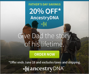 Ancestry.com: 20% Off AncestryDNA Kit (Unique Father's Day Gift)