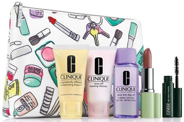 Clinique 6-Piece Beauty Set for $10 + Free Shipping