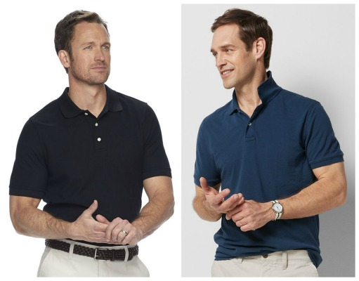 cea214408 If Dad is in need of a new polo shirt or two, this weekend Kohl's is  offering a great deal on several highly rated Men's Polo Shirts, plus you  can stack a ...