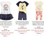 Cute 2- and 3-Piece Baby Clothing Sets from $3 at Macys.com