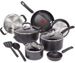 Amazon: T-fal Nonstick 12-Piece Cookware Set for $75 + Free Shipping – Today Only