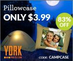 Custom Photo Pillowcases $3.99 Each + Shipping
