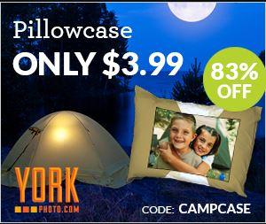 Custom Photo Pillowcases $3.99 Each + Shipping