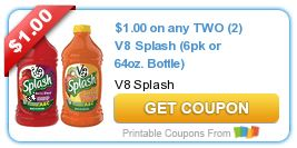 graphic relating to Prego Printable Coupons named Most straightforward Printable Coupon codes and Deals This 7 days: V8, Prego