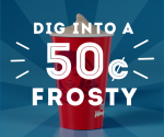 Wendy's: 50Ã' ¢ Small Frostys