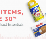 Amazon: Buy 3 Items, Save 30% on Back-to-School Essentials (Expires 9/6)