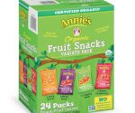 Amazon: Annie's Organic Bunny Fruit Snacks, Variety Pack, 24 Pouches for $11.17