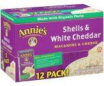 Amazon: Annie's White Cheddar Macaroni & Cheese for $8.29