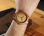 "Amazon: Men's Wooden Watch Half Off With Coupon Code ""CQKXY94I"""
