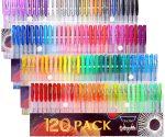 Amazon: Gelmushta Gel Pens 120 Unique Colors Set On Sale For $14.44