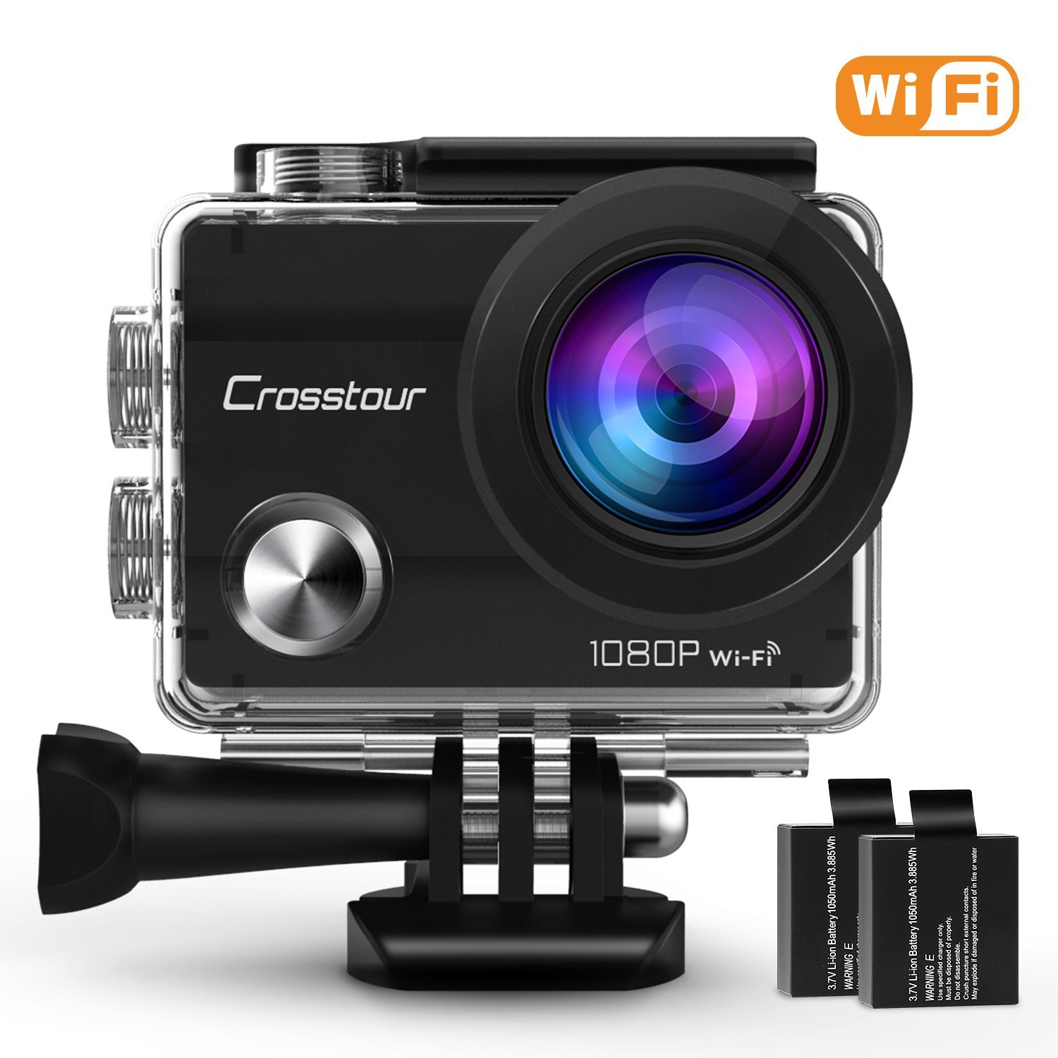 amazon crosstour action camera for deal ends in 4. Black Bedroom Furniture Sets. Home Design Ideas