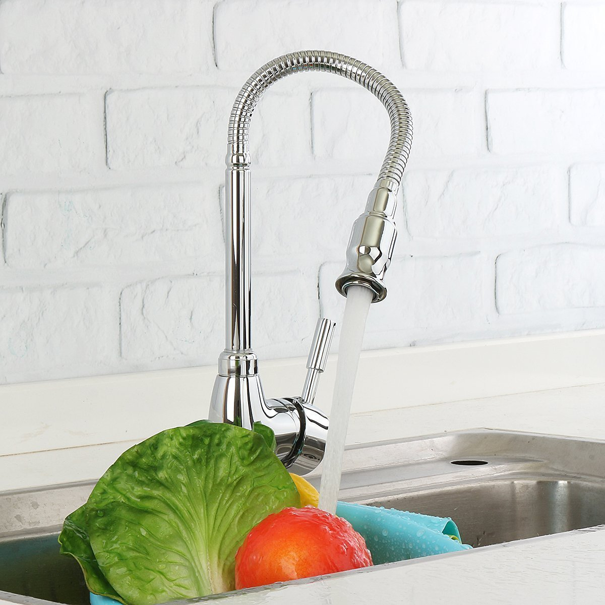 Amazon: Kitchen Sink Faucet 360 Degree Rotatable Faucet 50% With ...