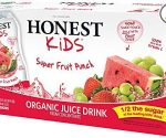 Amazon: HONEST Kids Organic Juice (Pack of 32) for $12 (Orig $16)