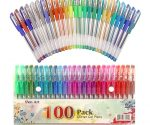 Amazon: 100 Pack of Glitter Gel Pens for $15.99 and Free Shipping