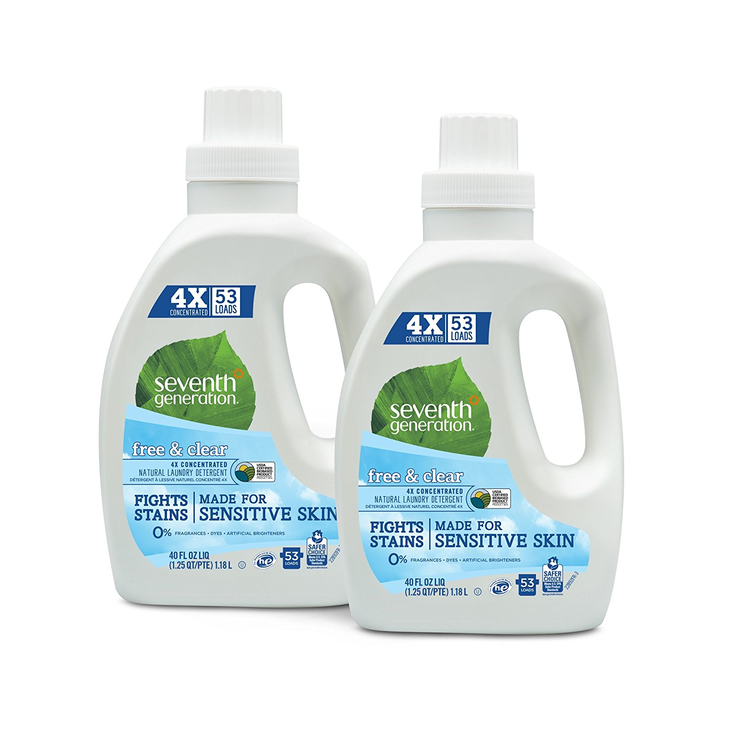 Amazon Seventh Generation Natural Laundry Detergent Pack