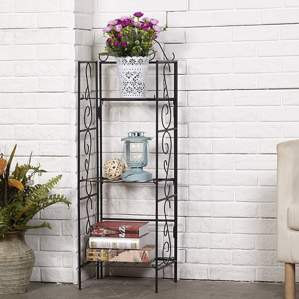 Amazon: Amagabeli 3 Tier Wire Shelf Shelving Unit for $17.99 with ...