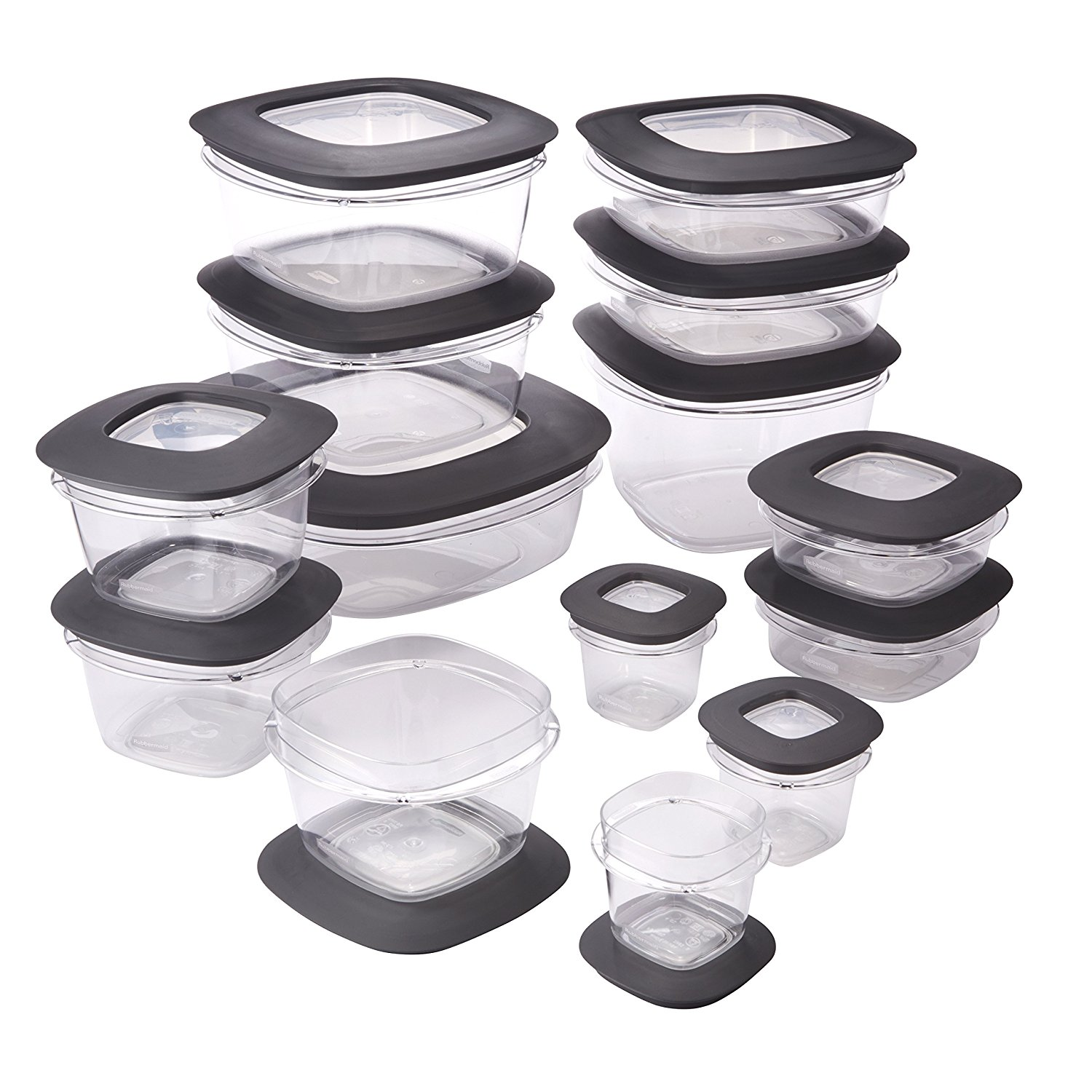 Amazon: Rubbermaid Premier Food Storage Containers, 28 ...