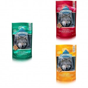 Amazon: BLUE Wilderness Grain Free Biscuits Crunchy Dog Treats for ONLY $6.62