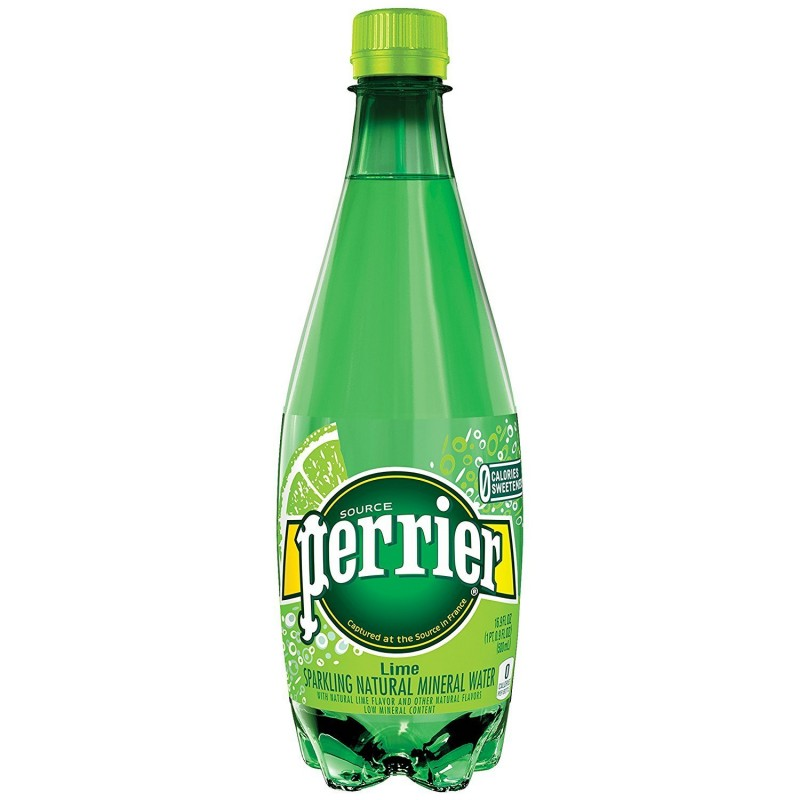 Amazon Perrier Lime Flavored Sparkling Mineral Water