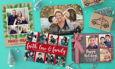 Groupon: PhotoAffections Holiday Photo Cards $17.99 for 40 cards (originally $79.20)