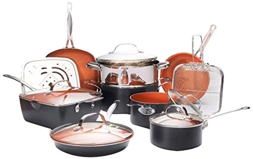 Amazon Gotham Steel Ultimate 15 Piece Kitchen Set Only 109 99