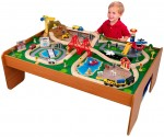 Amazon: KidKraft Ride Around Train Set and Table $78.99 (Orig. $136.99)