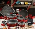 Walmart: Pioneer 30-Piece Cookware Set (HALF OFF Red Set!) $94.00