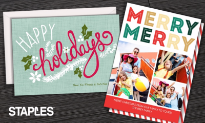 Groupon Custom Same Day And Delivered Holiday Cards And Invitations