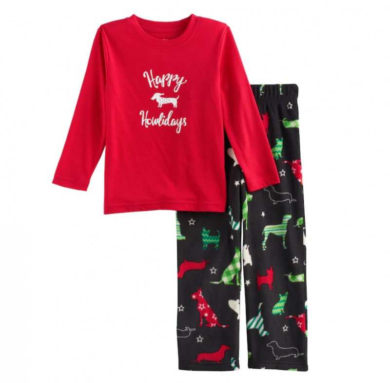 kohls kid pajama sets for as low as 960 up to 70 off - Is Kohls Open On Christmas Day
