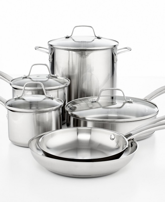 Macy S 10 Pieces Calphalon Classic Stainless Steel