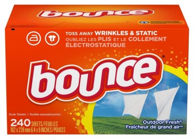 Amazon: Bounce Fabric Softener Sheets, Outdoor Fresh, 240 Count ONLY $5.49!