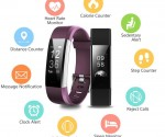 Amazon: Lattie Fitness Tracker with Heart Rate Monitor for Lowest Price of $26.00 & $32.99! (Black, Purple, Blue)