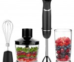 Amazon Lightning Deal: OXA Powerful 4-in-1 Immersion Hand Blender Set for lowest price of $28.48!