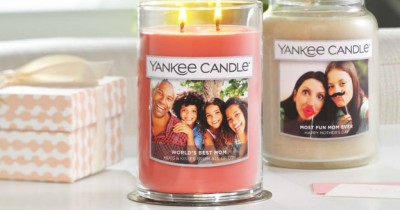 Yankee Candle: FREE Personalized Photo Candle Label Through January 14th ($5 Value)