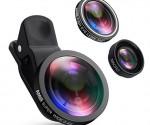 Amazon: AMIR Camera Lens Kit, 0.4X Super Wide Angle Lens + 180° Fisheye Lens & 10X Macro Lens for Only $15.99! (#1 Best Seller)