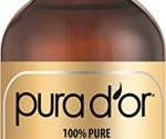 Amazon Lightning Deal: PURA D'OR 100% Pure Cold Pressed Organic Moroccan Argan Oil Now Only $12.43 ($24.99) (Ends in 3 Hours)