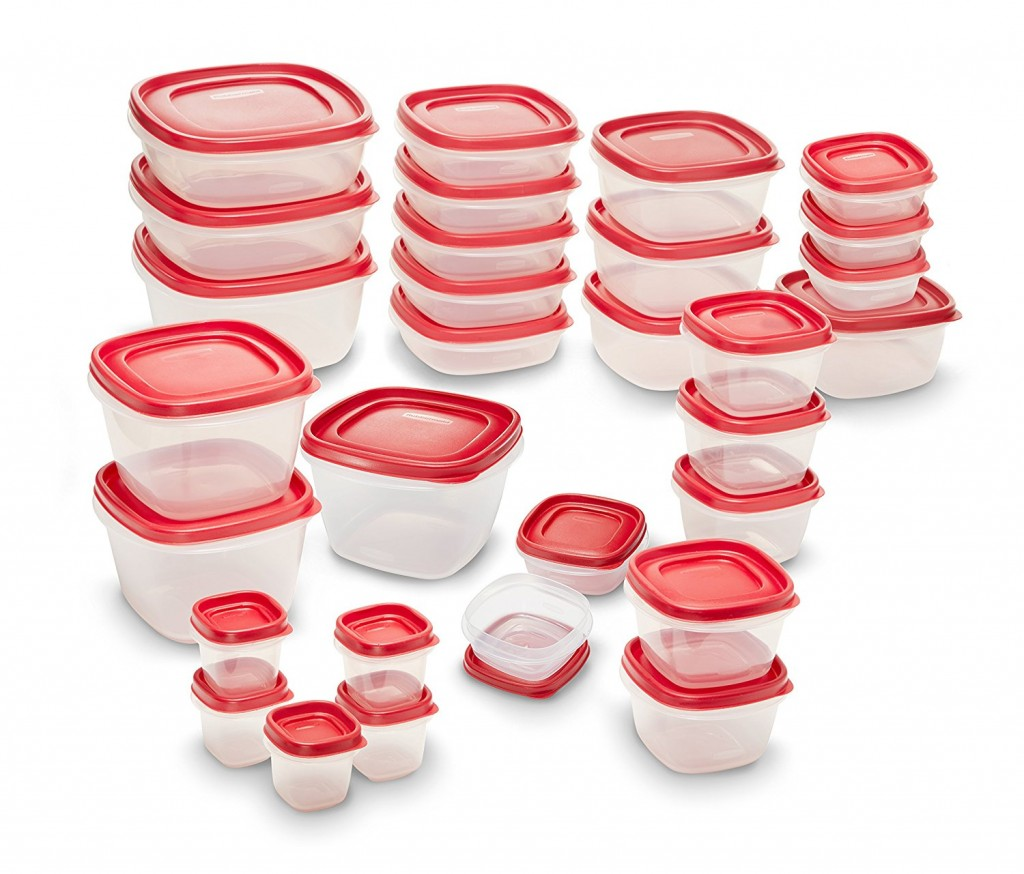 Amazon Prime Day Deal Rubbermaid 60 Piece Food Storage Container