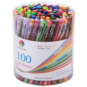 Amazon: Smart Color Art 100 Colors Gel Pens Set Only $16.99 (Reg. $59) (Amazon's Choice)