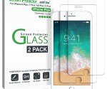 Amazon: amFilm iPhone 8 Plus, 7 Plus, 6S Plus, 6 Plus Screen Protector – 2 Pack for $6.79 (Reg. $29.99)(Over 9K Reviews!)