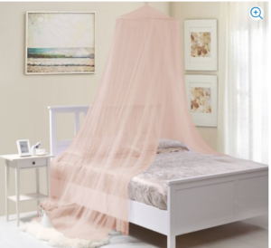 Buttons u0026 Bows Hoop Bed Canopy Pink u2013 $12.98 (Reg $24.99) & Walmart: Princess Bed Canopies Only $12.98! (Great for Reading ...