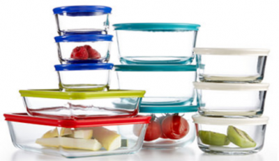 Macy's: Pyrex 22-Piece Set $19.99 (Or Corningware French White Set $19.99!)