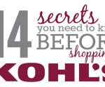 14 Secrets You Need to Know Before Shopping Kohl's