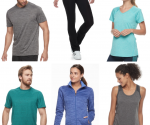 Kohl's: Great Deals on Workout Clothing and Shoes!