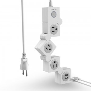 Amazon: JolyJoy Flexible Power Strip Surge Protector with USB ONLY $11.99! (Amazon's Choice)