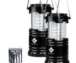 Amazon: Etekcity 2 Pack Portable LED Camping Lantern Flashlights Now $13.59 (Reg. $29.99) (Amazon's Choice)