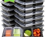 Amazon: 3-Compartment Bento Box Lunch Containers (18-Pack) Only $13.72!