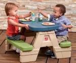 Amazon: Step2 Sit & Play Picnic Table with Umbrella Now $38.98 (Reg. $49.99) (Amazon's Choice)