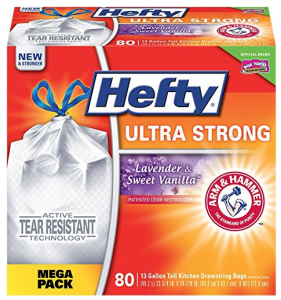 Amazon: Hefty Ultra Strong Trash Bags (110 ct) Only $12.74 Shipped & More