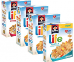 Amazon: Quaker Life Cereal or Oatmeal Squares as low as $1.37 per Box, Shipped!