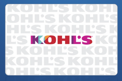 Kohl's: $20 Gift Card Just $10 For Some